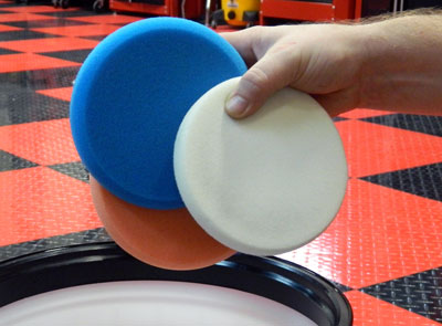 XMT Citrus Polishing Pad Cleaner is quick and easy to use!