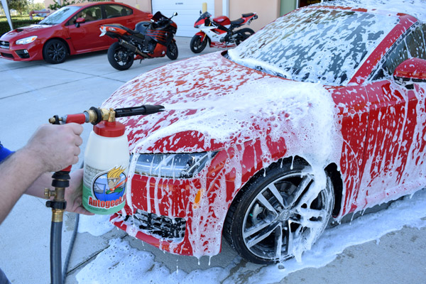 McKee's 37 Xtreme Foam Formula is the only car wash made for foam guns,