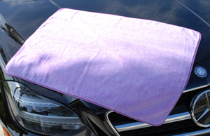 The Super Plush XL Microfiber Towel is huge in size and is made of quality Korean microfiber