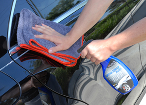 The Chinchilla Microfiber Buffing Cloth is perfect for quick detail sprays.