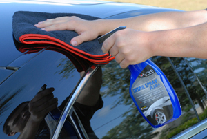 The Microfiber Clean & Buff Towel is perfect for all your detailing needs!