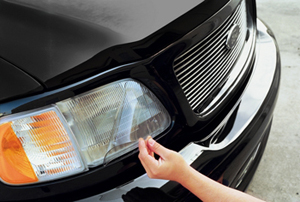 XPEL Headlight Protection Film Kit is easy to install and only requires basic instructions