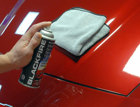 Enhance your vehicle's finish with Blackfire Midnight Sun Spray Wax!