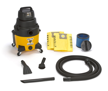 Detailer's 8 Gallon 2.5 Peak HP Wet/Dry Auto Detailing Vacuum includes everything you need to clean up any spill, wet or dry!