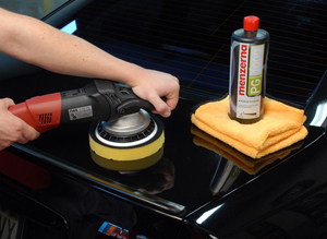 Menzerna Power Gloss Compound removes heavy scratches and swirl marks