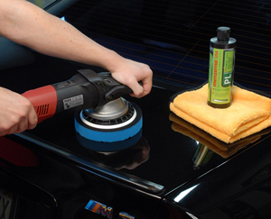 Jescar Power Lock protects and beautifies painted surfaces for months.