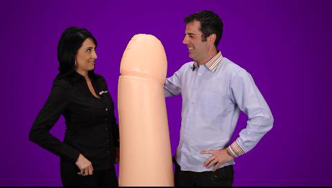 The Captain Pecker inflatable party penis from Bachelorette.com make great bachelorette party supplies