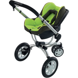 Quinny Buzz 3 Wheel Stroller - 4 Fabric Colors