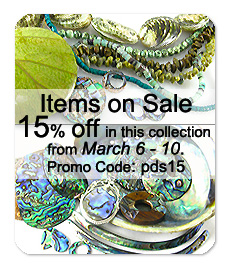 Green Beads & Pendants @ 15% OFF from March 6 - 10 | Promo code: pds15