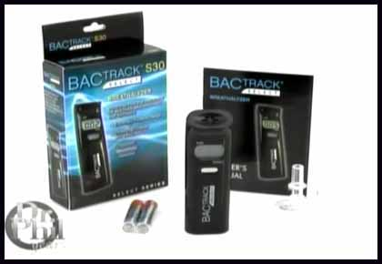 BACtrack Breathalyzers featured on the Dr. Phil show, BACtrack S30 Select