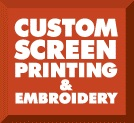 Custom Screen Printing & Embroidery