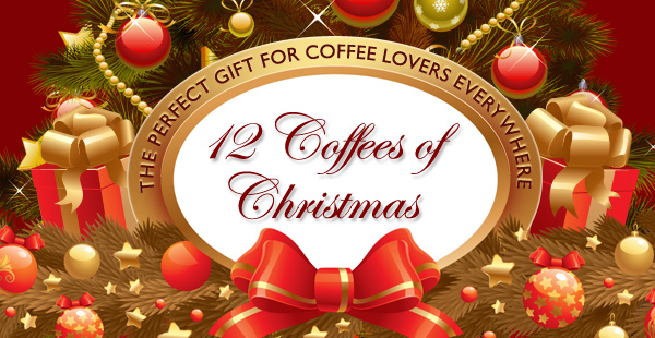 12 Coffees of Christmas Gift Set!