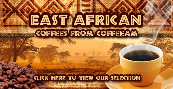 East African Coffees from CoffeeAM!