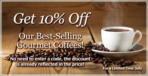 10% Off Best-Selling Coffees!