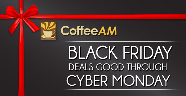 Black Friday at CoffeeAM!