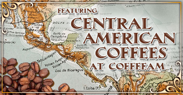 Central American Coffees at CoffeeAM.