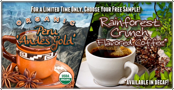 Get your free coffee sample!