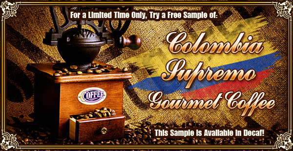 Free Sample at CoffeeAM!
