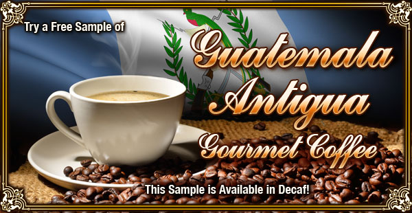 Get your Free Sample at CoffeeAM!