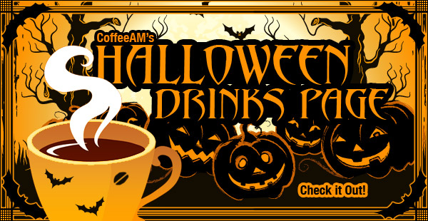 Halloween coffees at CoffeeAM!
