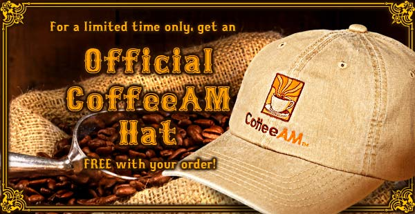 Free CoffeeAM Hat!