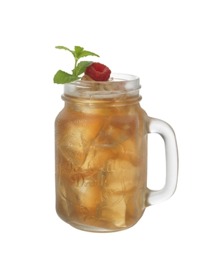 Raspberry Mint Iced Tea Recipe