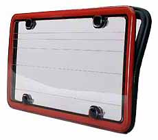 in 1982 to make the company less dependent on a single car model bud designed a revolutionary license plate frame that sealed and protected the license