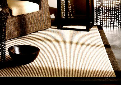 Moko sisal wool rug room picture