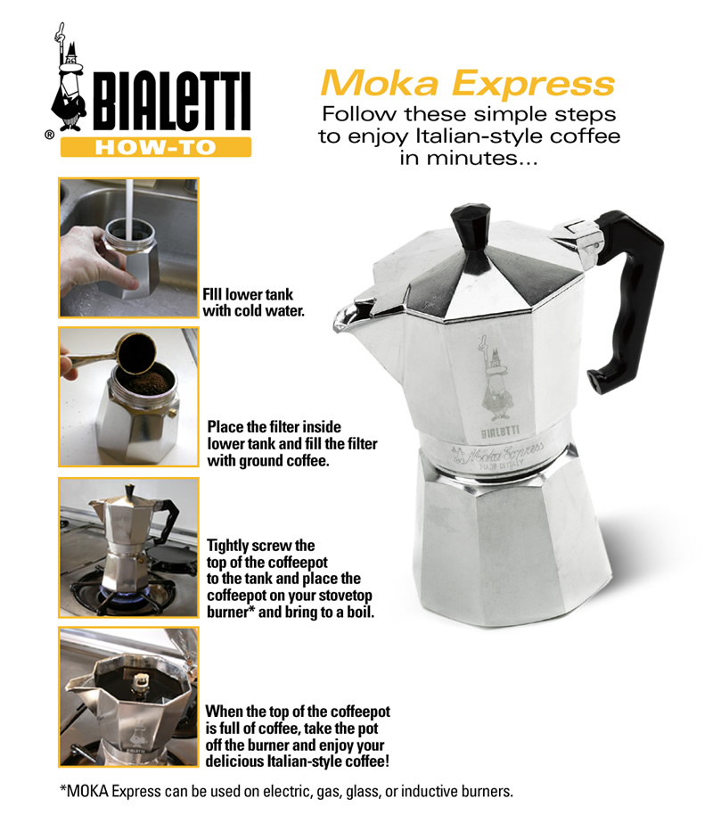 How Do You Say Coffee Maker In Italian : TravelMarx: Our First Coffee Maker Bialetti Moka Express
