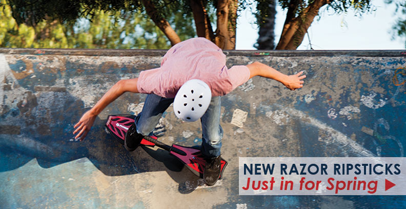New Razor RipStick