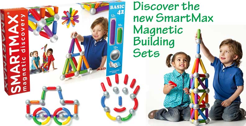 SmartMax Magnetic Discovery Basic 42 Piece Building Set