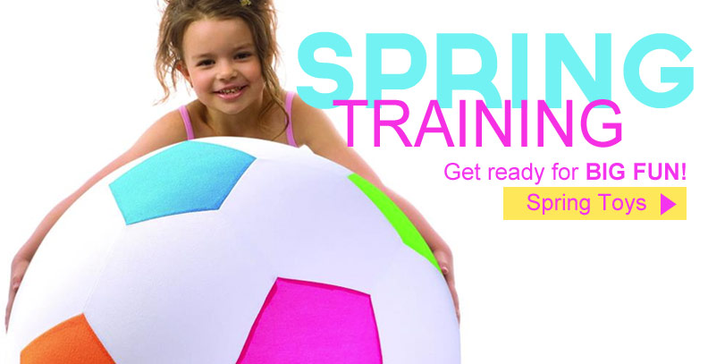 Get Ready for Big Fun with our Spring Toys