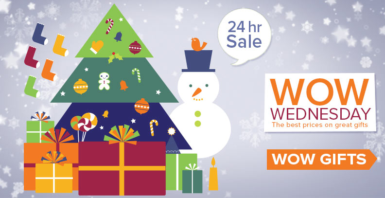 Wow Wednesday 24 hour Sale