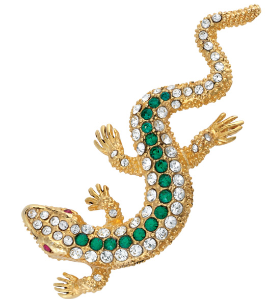 Animal Jewelry Lizard Pin