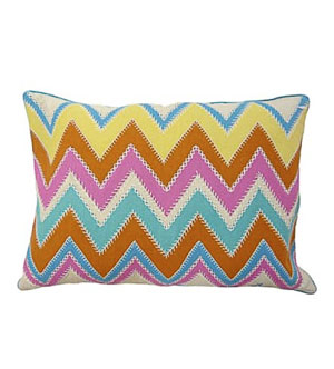 Bargello Decorative Throw Pillows