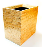 Bathroom Decor Trash Can Cork