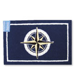 2x3 Compass Indoor Outdoor Rug
