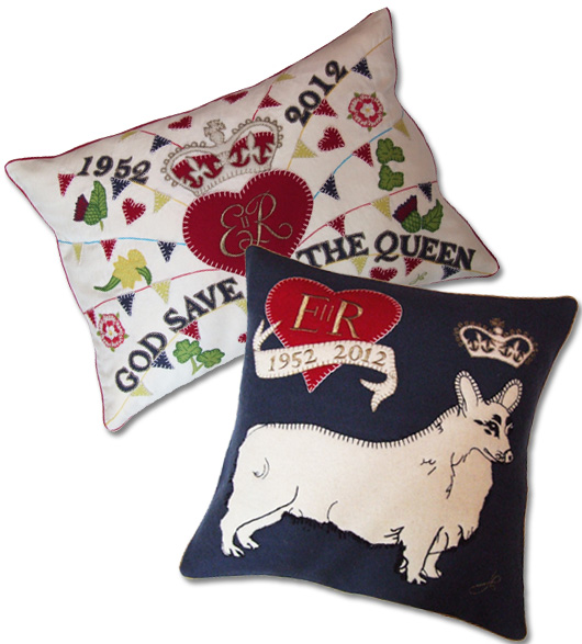 british goods decorative throw pillows
