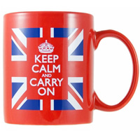 british goods union jack flag mug