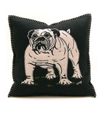 Bull Dog Pillow