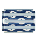 Butlers Tray Ikat Blue