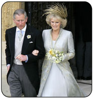 Camilla's Royal Wedding