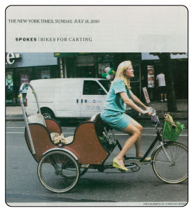 carrie bike basket in NYT