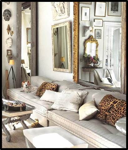 Decorating with Leopard Fabric