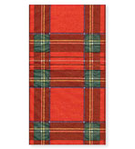 30 Royal Plaid Hand Towels