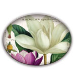 Decorative Soap Dish Magnolia