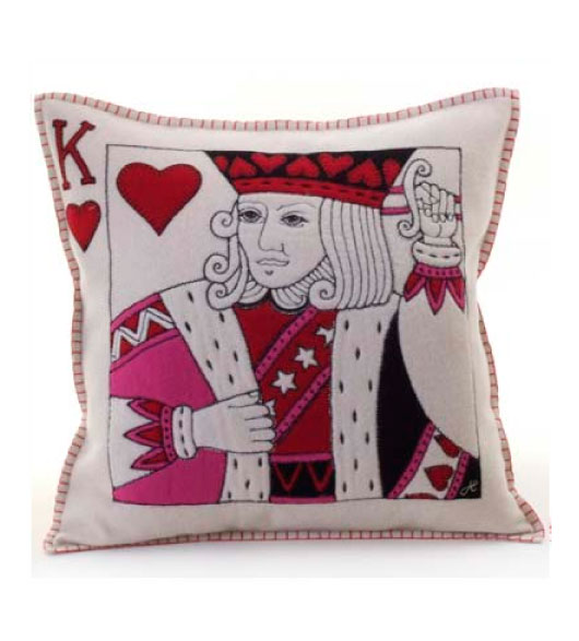 King And Queen Decorative Pillows : Decorative Throw Pillows