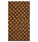 Paper Hand Towels Brown & Gold Pattern 30 Pc