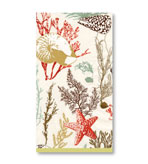 Paper Hand Towels Coral Marine 30 Pc