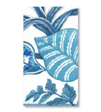 Paper Hand Towels Florida Blue by Pierre Frey